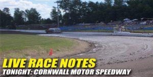 072912 SP LIVE RACE NOTES