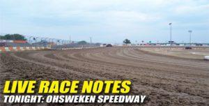 073112 SP LIVE RACE NOTES