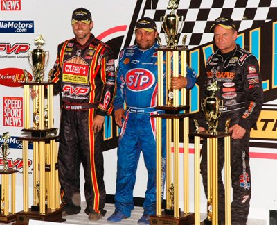 Mark Funderburk captures the top three at Knoxville