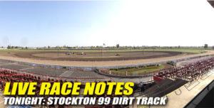 032213 SP LIVE RACE NOTES
