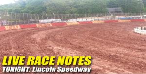 05152013 Lincoln RaceNotes