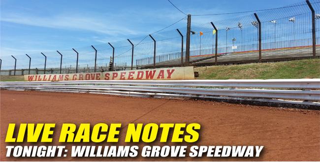 05172013 WilliamsGrove RaceNotes