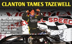 RACE REPORT Tazewell
