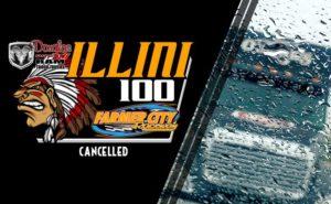 Rainout Illini100 Cancelled
