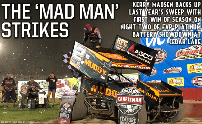 Kerry Madsen Wins Exciting Finale of FVP Platinum Battery