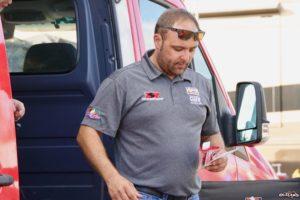 Donny Schatz with Racing Electronics