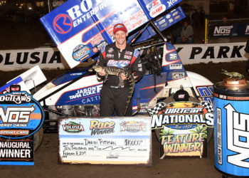 Daryn Pittman Victory Lane Volusia Feb. 8, 2019