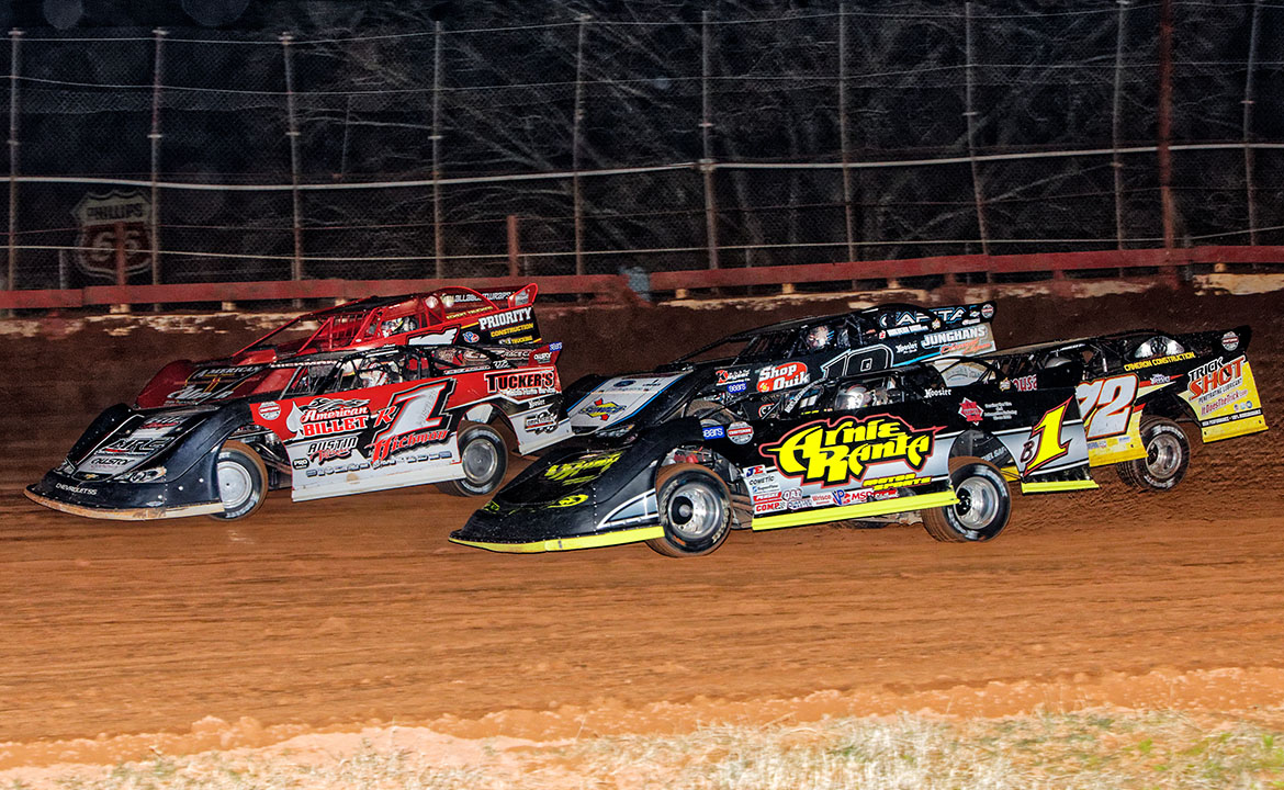 Screven Motor Park World of Outlaws Late Model Winter Freeze
