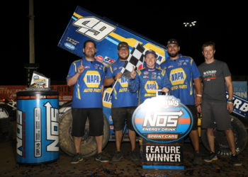 Brad Sweet wins Granite City Speedway