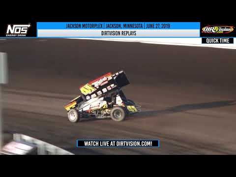 DIRTVISION REPLAYS | Jackson Motorplex June 27, 2019
