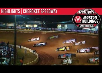 World of Outlaws Morton Buildings Late Models Cherokee Speedway May 3, 2019 | HIGHLIGHTS