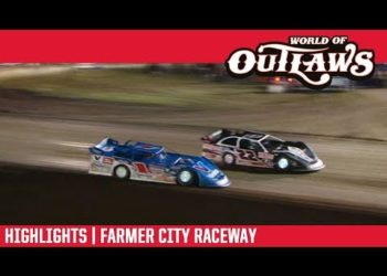 World of Outlaws Morton Buildings Late Models Farmer City Raceway April 6, 2019 | HIGHLIGHTS