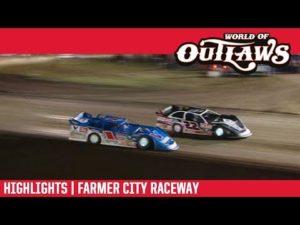 World of Outlaws Morton Buildings Late Models Farmer City Raceway April 6, 2019 | HIGHLIGHTS