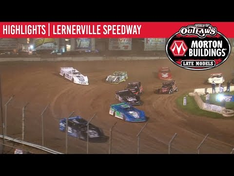 World of Outlaws Morton Buildings Late Models Lernerville Speedway June 21, 2019 | HIGHLIGHTS