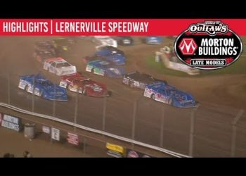 World of Outlaws Morton Buildings Late Models Lernerville Speedway June 22, 2019 | HIGHLIGHTS