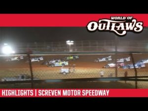 World of Outlaws Morton Buildings Late Models Screven Motor Speedway February 8, 2019 | HIGHLIGHTS