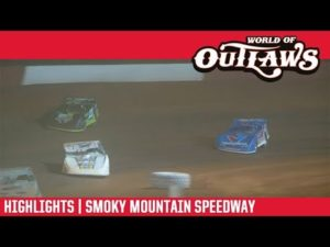 World of Outlaws Morton Buildings Late Models Smoky Mountain Speedway March 23, 2019   HIGHLIGHTS