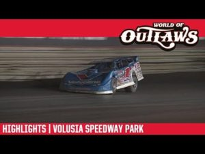 World of Outlaws Morton Buildings Late Models Volusia Speedway Park February 13, 2019   HIGHLIGHTS