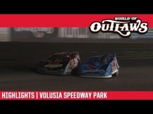 World of Outlaws Morton Buildings Late Models Volusia Speedway Park February 14, 2019   HIGHLIGHTS