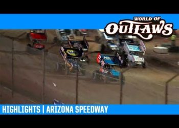 World of Outlaws NOS Energy Drink Sprint Cars Arizona Speedway April 6, 2019 | HIGHLIGHTS