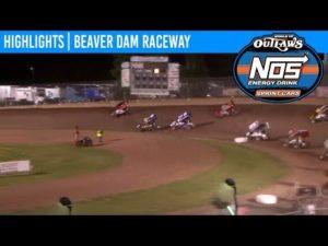 World of Outlaws NOS Energy Drink Sprint Cars Beaver Dam Raceway, June 22, 2019   HIGHLIGHTS