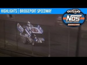 World of Outlaws NOS Energy Drink Sprint Cars Bridgeport Speedway May 21, 2019   HIGHLIGHTS