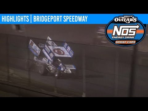 World of Outlaws NOS Energy Drink Sprint Cars Bridgeport Speedway May 21, 2019 | HIGHLIGHTS