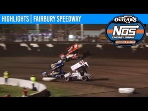 World of Outlaws NOS Energy Drink Sprint Cars Fairbury Speedway, June 4, 2019   HIGHLIGHTS