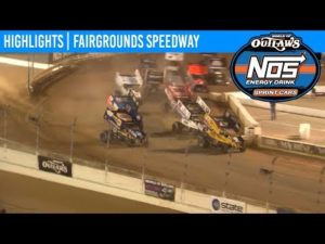 World of Outlaws NOS Energy Drink Sprint Cars Fairgrounds Speedway, May 31, 2019   HIGHLIGHTS