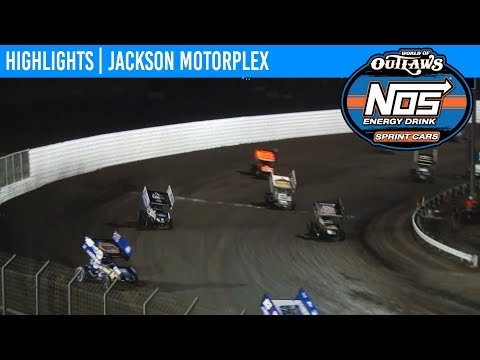 World of Outlaws NOS Energy Drink Sprint Cars Jackson Motorplex, June 29, 2019 | HIGHLIGHTS