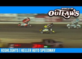 World of Outlaws NOS Energy Drink Sprint Cars Keller Auto Speedway March 29, 2019 | HIGHLIGHTS