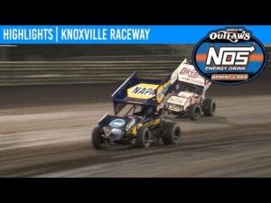 World of Outlaws NOS Energy Drink Sprint Cars Knoxville Raceway, June 15, 2019   HIGHLIGHTS
