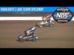 World of Outlaws NOS Energy Drink Sprint Cars Lake Ozark Speedway April 26, 2019 | HIGHLIGHTS