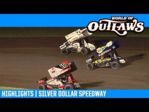 World of Outlaws NOS Energy Drink Sprint Cars Silver Dollar Speedway March 15, 2019   HIGHLIGHTS