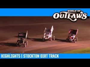 World of Outlaws NOS Energy Drink Sprint Cars Stockton Dirt Track March 16, 2019   HIGHLIGHTS