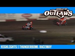 World of Outlaws NOS Energy Drink Sprint Cars Thunderbowl Raceway March 9, 2019   HIGHLIGHTS