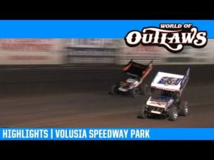 World of Outlaws NOS Energy Drink Sprint Cars Volusia Speedway Park February 8, 2019   HIGHLIGHTS
