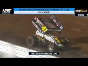 World of Outlaws NOS Energy Drink Sprint Cars Williams Grove Speedway May 17, 2019 | OUTLAW MOMENTS