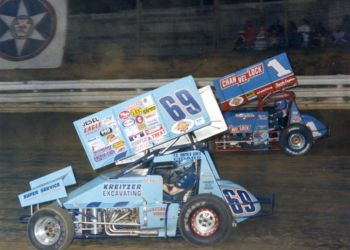 Don Kreitz Jr. and Sammy Swindell