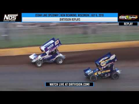 DIRTVISION REPLAYS | Cedar Lake Speedway July 6th, 2019