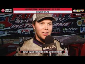 DIRTVISION REPLAYS   Fairbury Speedway July 26th, 2019