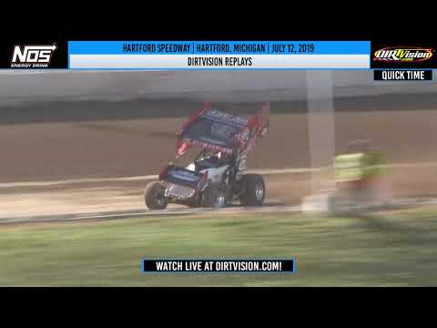 DIRTVISION REPLAYS | Hartford Speedway July 12th, 2019