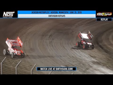 DIRTVISION REPLAYS | Jackson Motorplex June 29, 2019