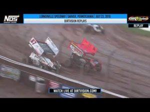 DIRTVISION REPLAYS   Lernerville Speedway July 23rd, 2019