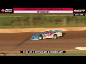 DIRTVISION REPLAYS   Plymouth Dirt Track July 29th, 2019