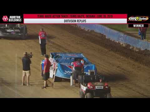 DIRTVISION REPLAYS | Terre Haute Action Track June 28, 2019