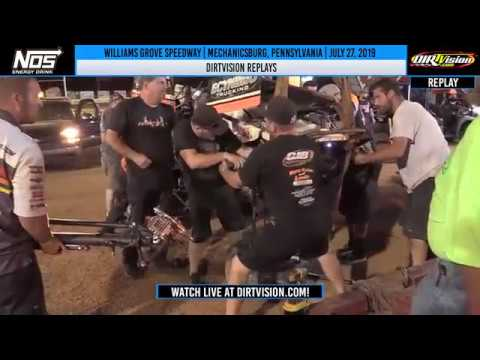 DIRTVISION REPLAYS | Williams Grove Speedway July 27th, 2019