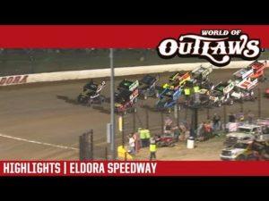 World of Outlaws Craftsman Sprint Cars Eldora Speedway July 14, 2018   HIGHLIGHTS