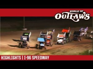 World of Outlaws Craftsman Sprint Cars I-96 Speedway June 1, 2018   HIGHLIGHTS