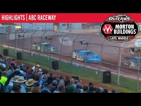 World of Outlaws Morton Buildings Late Models ABC Raceway July 9, 2019 | HIGHLIGHTS